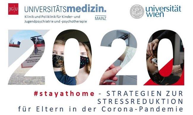 Logo der #stayathome-Studie